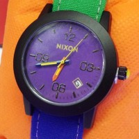 Jam Tangan Nixon Rasta Jamaica Ungu