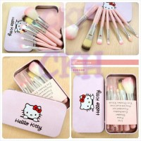 MAC hello kitty makeup brush set
