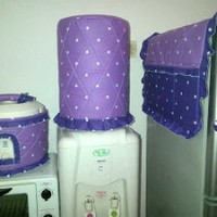 GKM, Sarung Galon-Tutup kulkas-Tutup Majicom Star Dottie Lilac-Purple