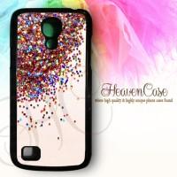 06 Glitter Samsung Galaxy S4 MINI HARD case,casing,unik,lucu,imut,cat