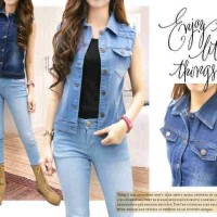 rompi jeans streat fit S.M