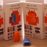Paket USB OTG (ON THE GO) Boneka Android
