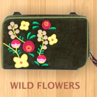 Dompet HPO Namian Etnik / Dompet Wanita Namian Etnik Wild Flowers
