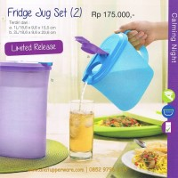 Fridge jug set by Tupperware
