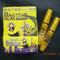 MAYBELLINE MASCARA Maskara MAGNUM Volume Express Kuning BEST SELLER !!