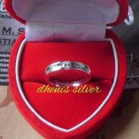 cincin kawin tunangan pasangan perak emas paladium dhenis950 no021