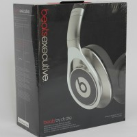 Beats Executive Over-Ear Headphones (Silver) by Dr DRE