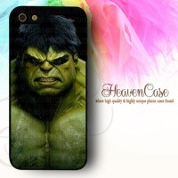 001 HULK Iphone 5/5s HARD case,casing,superhero,marvel,avengers,unik
