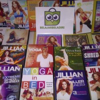 DVD Senam No More Trouble Zones Jillian Michaels