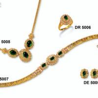 """Perhiasan Lapis Emas ZHULIAN - Koleksi Set """"DAYANG"""" (hrg 1 set)"""