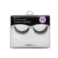 The Face Shop Pro Eyelashes 12 Cross Croises