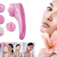 FACIAL FACE ROLER MASAGER SET SKIN RELIEF MASAGER 5 IN 1 AS SEEN ON TV