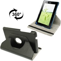 harga Rotate Leather Case Acer Iconia Tab B1 A71 + Antigores Tokopedia.com