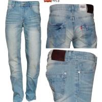 LEVIS 1873 Fashion - Slimfit - Biru muda - Import Japan - 8393