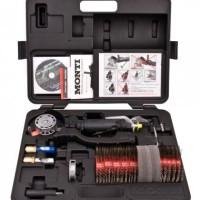 MBX Bristle Blaster Industrial Set Pneumatic