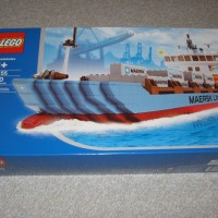 Toys LEGO Exclusive Maersk Line Container Ship 10155