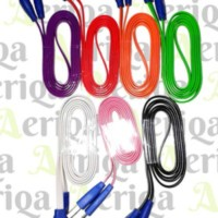 Kabel Data Smile Menyala MicroUSB 1 meter - BB, Samsung, Android, etc