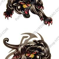 Leopard - Temporary Tattoo / Tato Temporer