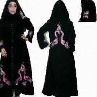 Abaya Monas Pink