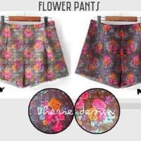 Flower Pant / Hot Pants Flower