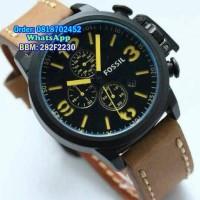 FOSSIL BULOVA B2 Leather for Men