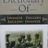 Dictionary Of Javanese-English, English- Javanese