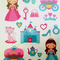 Princess Dream - Tattoo Temporary Import by Potatoo