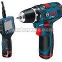 Paket Kamera Borescope+Mesin Bor Obeng Bosch GOS+GSR 10.8 V-Li-2 batry