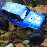 Jeep Wrangler Wraith-Poison Spyder Rock Racer 1/10th Scale Electric 4W