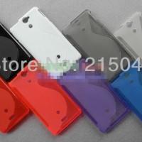 Jual Softcase Gel TPU S-Line Soft Silikon Kondom Case Sony Xperia V