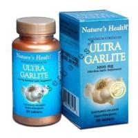 8230A - Nature's Health Ultra Garlite 1000 mg isi 60 - suplemen nutrisi vitamin mineral