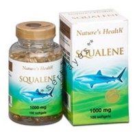 8228A - Nature's Health Squalene 1000 mg isi 100 - suplemen nutrisi vitamin mineral