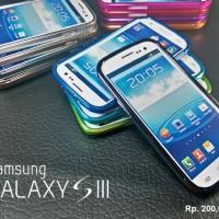 SAMSUNG Galaxy S3 :Aluminium Bumper Case