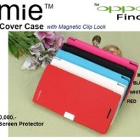 Oppo Find-5 X909 : Emie Flip Cover Case Free Sp