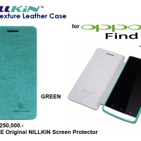 Oppo Find 5 X909 : Nillkin Tree Texture Leathercase Free Sp