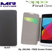 Oppo Find Clover R-815 : Lmr Flip Cover Case Free Sp