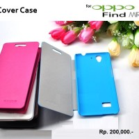 OPPO Find Mirror R819 : Original Flip Cover LOGO