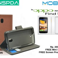 OPPO Find Muse R821 : MOBX Flip Cover Case FREE SP