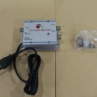 Menguatkan Sinyal TV TANPA EFEK SAMPING. Pakai : Penjernih & Penguat Sinyal TV (TV Signal Booster) + 2 Splitter