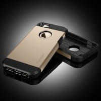 iPhone 5S / 5 Case Tough Armor (Air Cushion Technology) CHAMPAGNE GOLD *LIMITED EDITION*