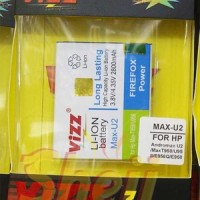 Baterai Vizz Andromax U2 Smartfren 2800mah