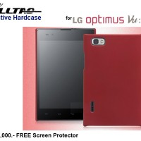 Lg Optimus Vu P895 : Fulltao Hardcase Free Sp (red)