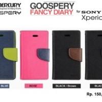 Flipcover SONY Xperia J (ST26i) : MERCURY Korea - GOOSPERY Fancy Diary Case
