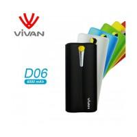VIVAN D06 : Power Bank 6000mah