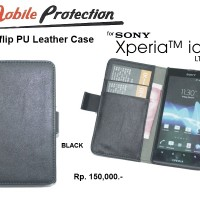 Flipcover SONY Xperia Ion LT28i : MP Flip Cover Case