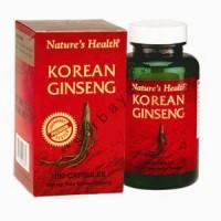 8213A - Nature's Health Korean Ginseng isi 100 - suplemen nutrisi vitamin mineral