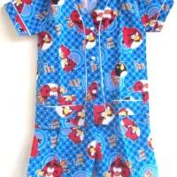 Baju Tidur / Piyama Anak Pendek Size M