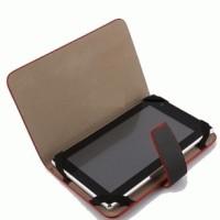 REDLINE 7 Inchi LEATHER Case TABLET PC / dompet tablet 7 inch / sarung import tablet