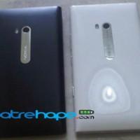 Casing Nokia Lumia 900 Hitam Putih