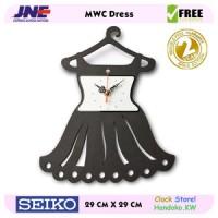 Jam dinding - MWC Dress - JNE 1KG - Garansi Seiko 2 Tahun!